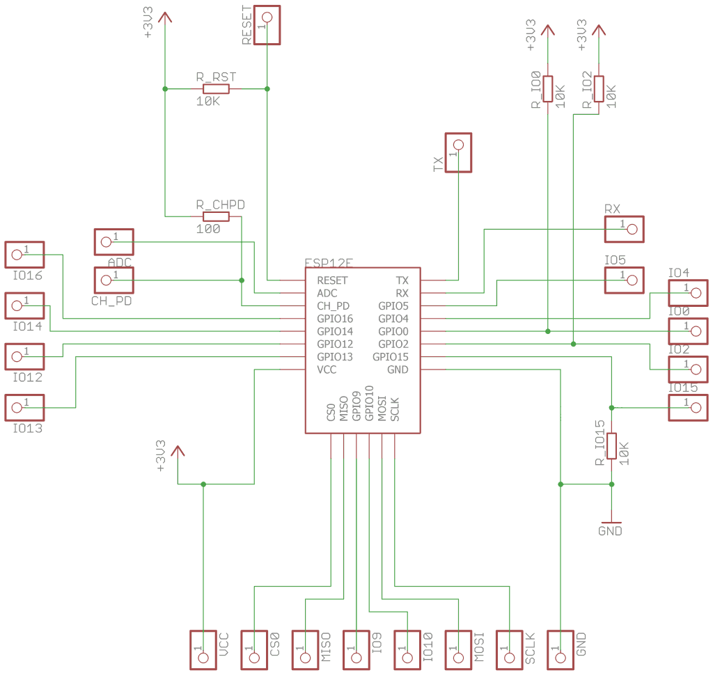 3.5. Schematic — ESP-12 Breadboard Adapter 1.0 documentation